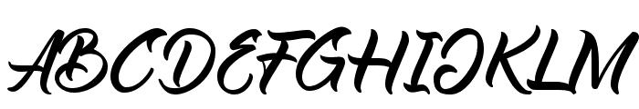 Reflisatta Font UPPERCASE