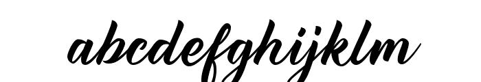Reflisatta Font LOWERCASE