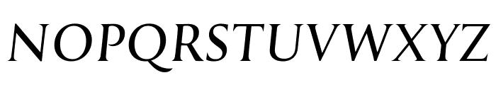 Reforma 1918 Gris Italica Font UPPERCASE