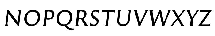 Reforma 1969 Gris Italica Font UPPERCASE