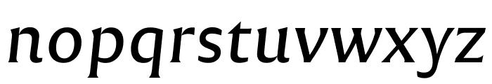 Reforma 1969 Gris Italica Font LOWERCASE