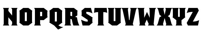 Regalia Free Regular Font UPPERCASE