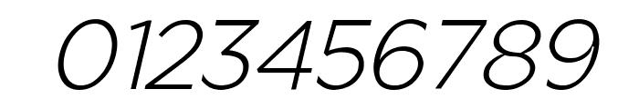Regencie Light Alt Oblique Font OTHER CHARS