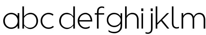Regencie Light Alt Font LOWERCASE
