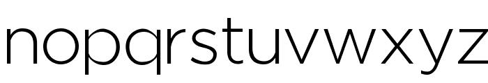 Regencie Light Font LOWERCASE
