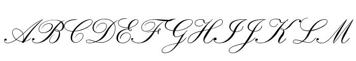 RegencyScriptFLF Font UPPERCASE