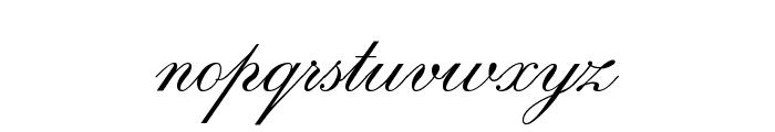 RegencyScriptFLF Font LOWERCASE