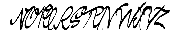 Regent Way Font UPPERCASE