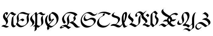 RegentUNZ Font UPPERCASE