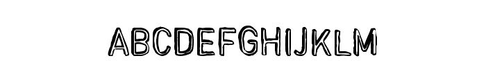 RegimeChange Font UPPERCASE