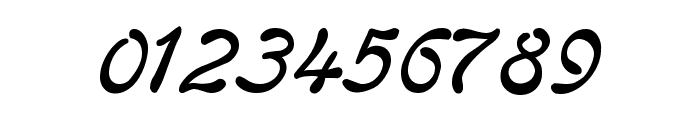 Regina Kursiv Italic Font OTHER CHARS