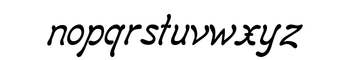Regina Kursiv Italic Font LOWERCASE
