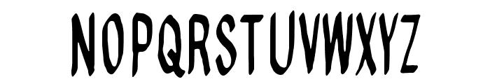 Regurgance Font UPPERCASE