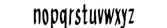 Regurgance Font LOWERCASE