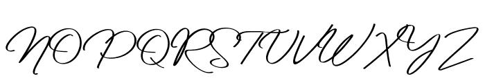 Reileigh Font UPPERCASE