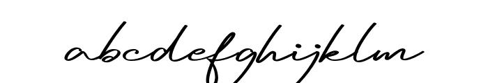 Reileigh Font LOWERCASE