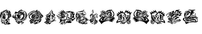 Relative Font LOWERCASE