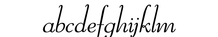 Reliant Limited Free Version Font LOWERCASE