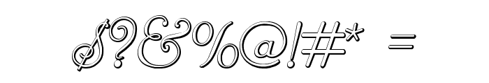 ReliantBeveled Font OTHER CHARS