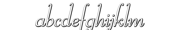 ReliantBeveled Font LOWERCASE