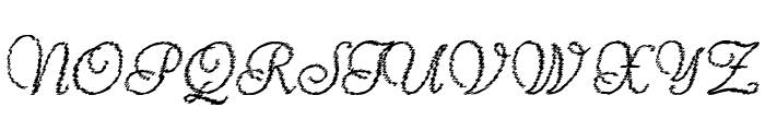 ReliantTrash Font UPPERCASE