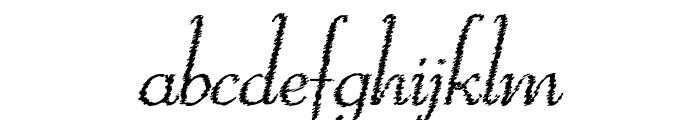 ReliantTrash Font LOWERCASE