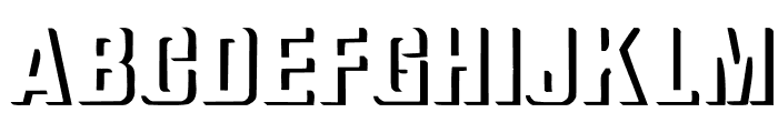 Relief Grotesk Bold Font LOWERCASE