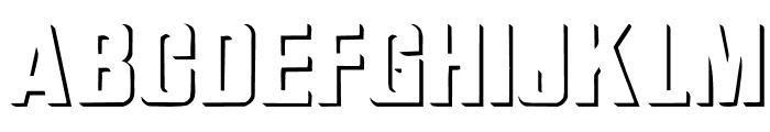 Relief Grotesk Font UPPERCASE