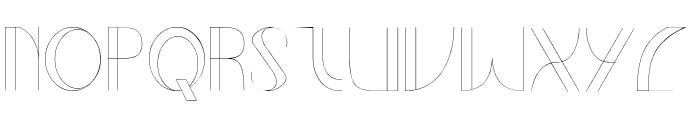 Relline Font UPPERCASE