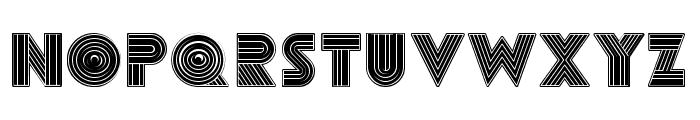 Remained Black Regular Font UPPERCASE