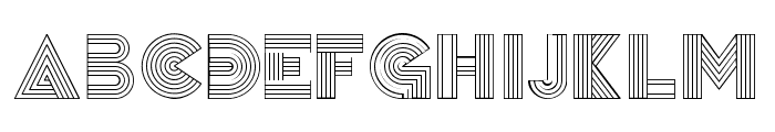 Remained Regular Font UPPERCASE