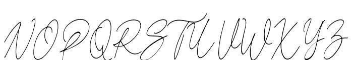 Reman Font UPPERCASE