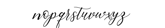Rembrants Font LOWERCASE
