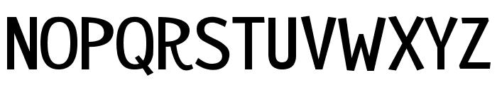 Remedy Font UPPERCASE
