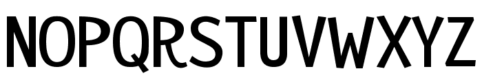 Remedy Font LOWERCASE