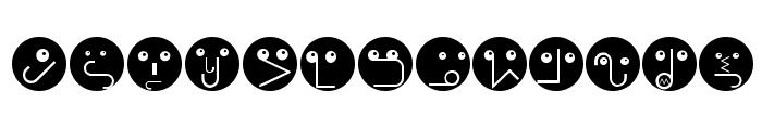 RememberBauhausFaces Font UPPERCASE