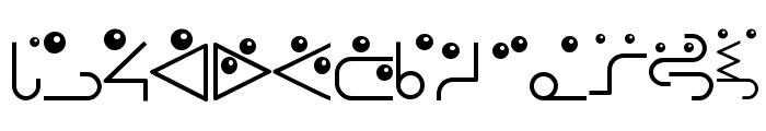 RememberBauhausFaces Font LOWERCASE
