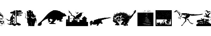 RememberMesozoikum Font LOWERCASE