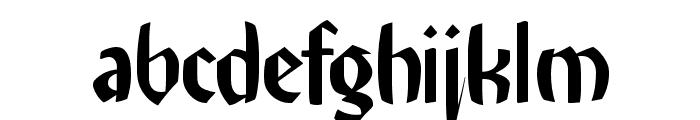 RememberReinerFS Font LOWERCASE