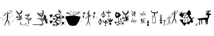 RememberStoneage Font UPPERCASE