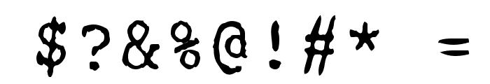 Remington Font OTHER CHARS