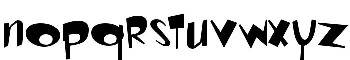Ren & Stimpy Font LOWERCASE