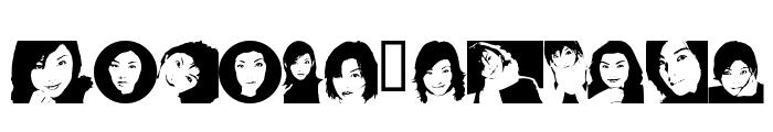 Rena Version2000 Font UPPERCASE