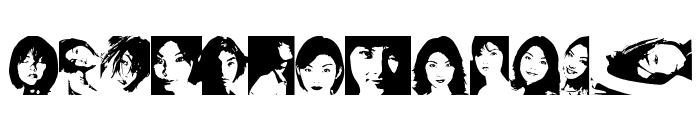 Rena Version2000 Font LOWERCASE