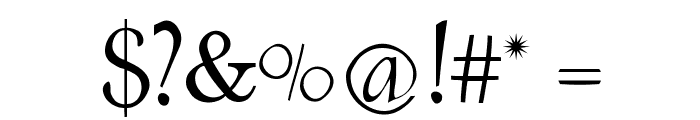 Renaiss-Italic Font OTHER CHARS