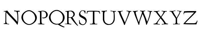 Renaiss-Italic Font UPPERCASE