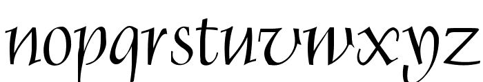Renaiss-Italic Font LOWERCASE