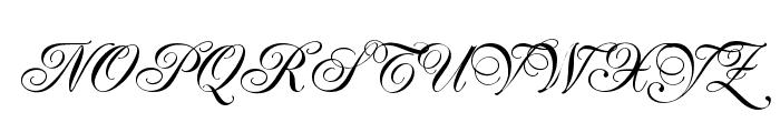 Renaissance-Regular Font UPPERCASE