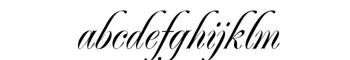Renaissance-Regular Font LOWERCASE