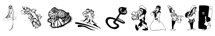 RenaissanceBeingsShow Font OTHER CHARS